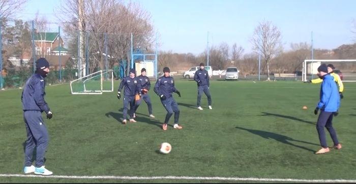 Футболисты из Владивостока